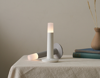 Lighthouse - Wireless charging lamp