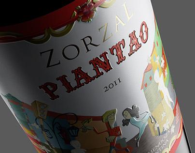 Piantao · Wine Label Desing · Wine Packaging