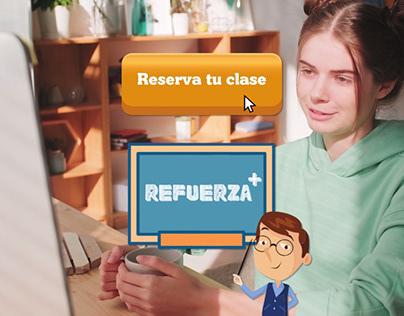 REFUERZA+ | Edición de video | Spot Publicitario