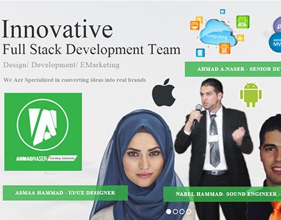 Ahmad Naser Turnkey Solutions Website