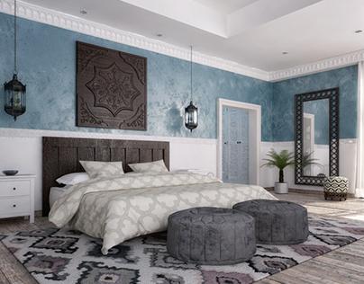 Islamic master bedroom