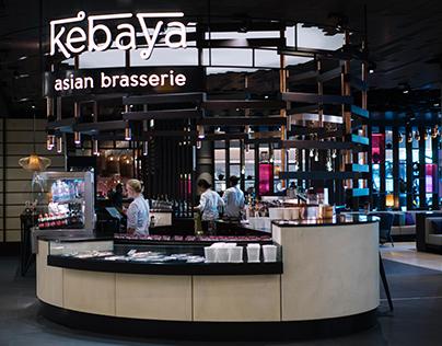Kebaya, Schiphol Airport, HMS Host