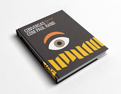 """Redesenho do livro """"Conversas com Paul Rand"""""""