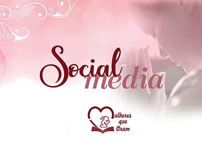 Social Media | Mulheres que Oram