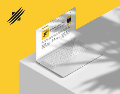 Klaipėdos Dizaino Centras – Website for Design Agency