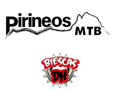 Logotipo Pirineos MTB