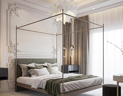 Neoclassic MASTER bedroom