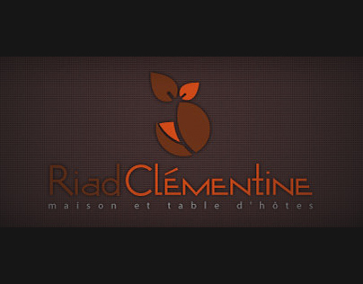 Identité graphique Riad Clementine