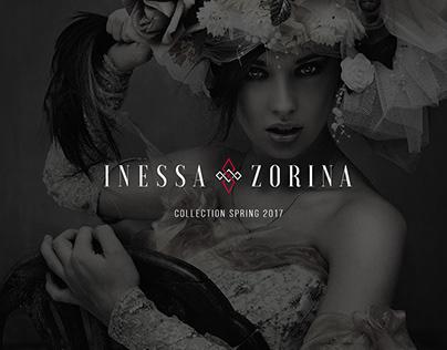 Inessa Zorina fashion designer website