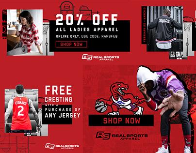 Toronto Raptors x Real Sports - Lifestyle Marketing