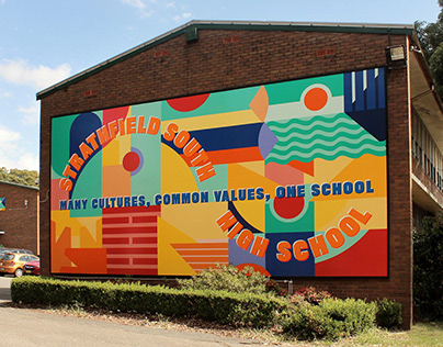 Strathfield South High School Mural