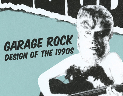 Garage Rock Design of the 90s Publication