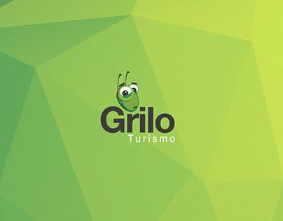 Grilo Turismo Design de Logo