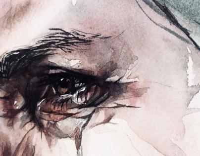 Woman portrat