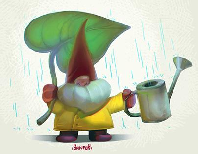 Gnomes character design