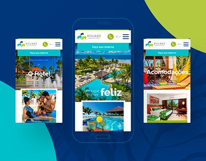 Village Porto de Galinhas website redesign