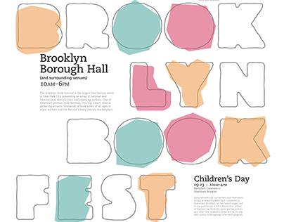 Brooklyn Book Festival Identity Design
