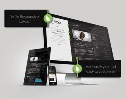 Folio - a premium responsive template