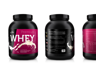 Premium Whey label