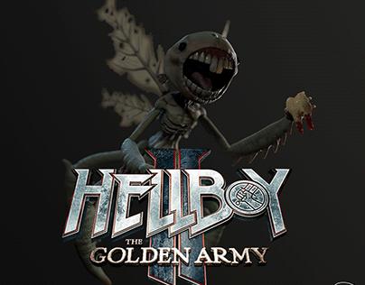 Carcharodon Calcarea(HellBoy Fan Art) | RealTime