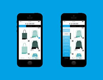 A LI CARDO | 帶動線上至線下消費的行動購物APP