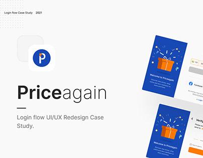 Login Flow UI/UX Redesign Case study