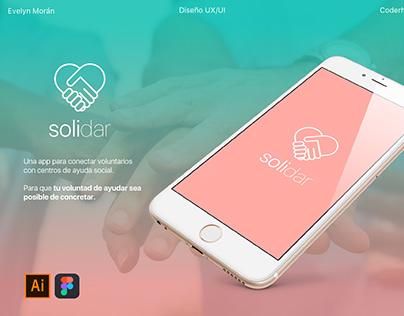 Diseño UX/UI - Solidar