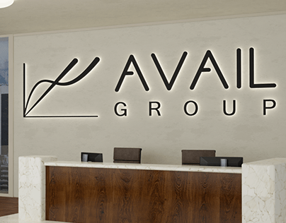 Logo and visual Identity for business group