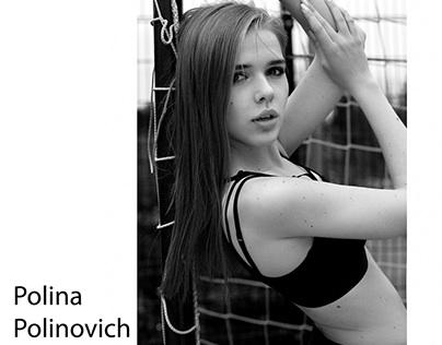 Model test for Polina Polinovich
