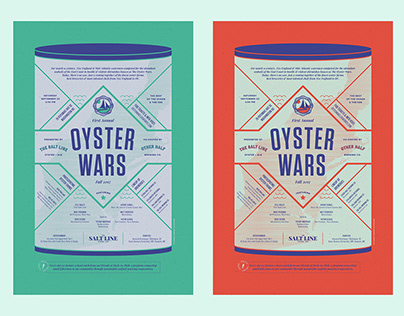 Oyster Wars 2017 | Posters