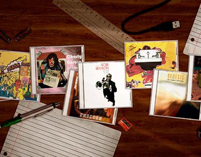 Packs de cds