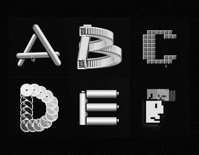 Interface Nostalgia for #36daysoftype