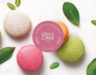 Kiss Me Cake Bakery Branding
