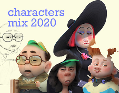 characters mix 2020