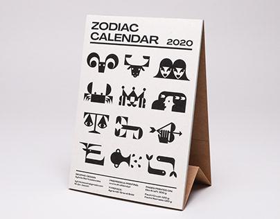Zodiac&Moon Phases Calendar