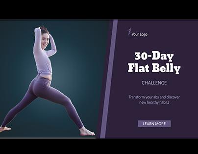 Facebook Fitness Cover/AD design