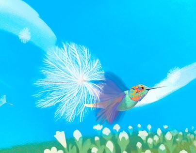THE HUMMINGBIRD FLYGHT