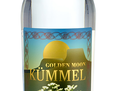 Label Design - Golden Moon Distillery