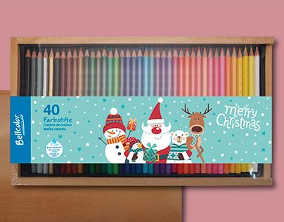 外銷40C色鉛筆-包裝設計