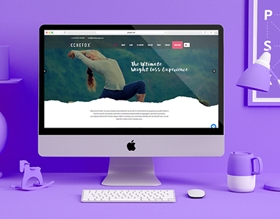 Website Design - Chefox Camp