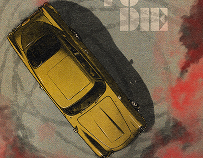 JAMES BOND - NO TIME TO DIE. Movie poster art