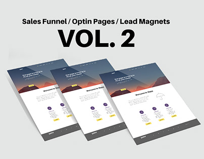 Sales Funnel / Optin Pages / Lead Magnets