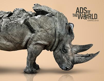 Saving Rhinos   Ads