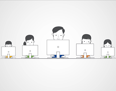 Explainer video from AI illustrations