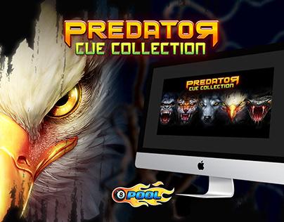 Miniclip Predator Cue Collection Campaign