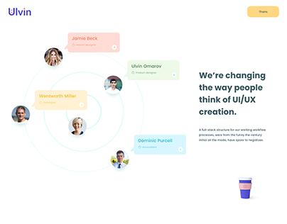 UI/UX XD daily challenge and team prototype