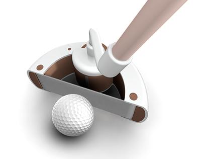 STRUNG golf putter