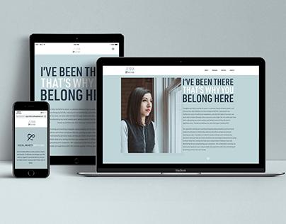 Jenna and Her Mom- Website Design