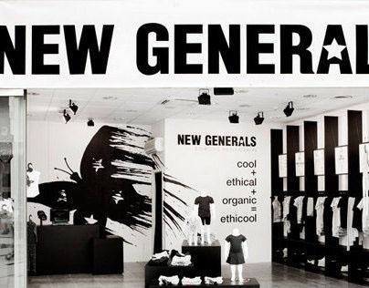 New Generals - popup shop