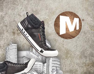 AD Campaign MERRELL FALL/WINTER'12